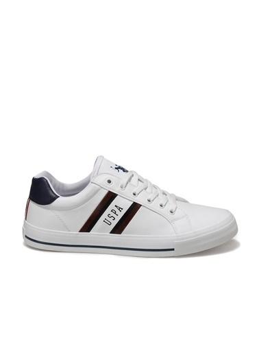 U.S. Polo Assn. Erkek Ayakkabı Pure 100555087 Beyaz
